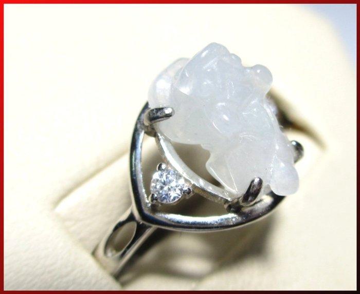 【〈譚媽媽小舖〉】*天然【A貨】緬甸玉貔貅戒指#023 *超值價