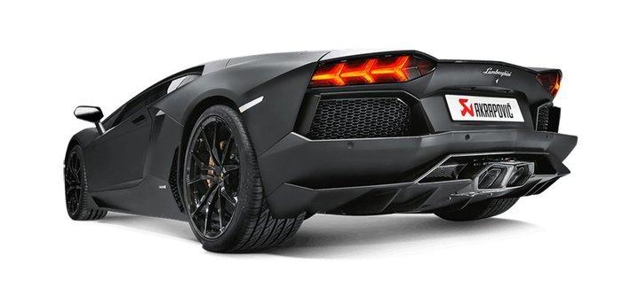 【樂駒】Akrapovic 尾段排氣系統 Lamborghini Aventador LP700-4