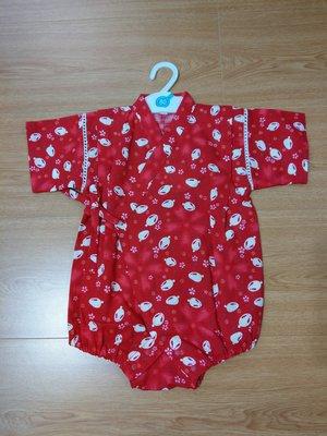 日本代購 西松屋嬰幼兒童裝 日本浴衣80cm 屁衣款 100%棉 居家服/睡衣 現貨 TAKI MAMA
