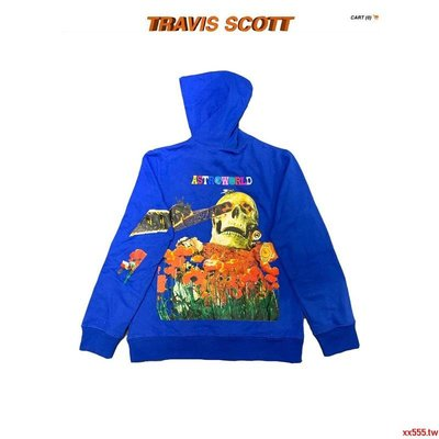 熱賣Travis Scott Governors Ball Astroworld 巡演周邊骷髏頭衛衣