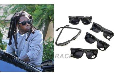 【RACE】THRASHER SKATE & DESTROY SUNGLASSES 墨鏡 太陽眼鏡 消光 UV400 黑