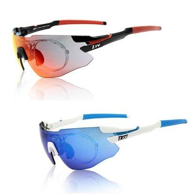 【三鐵共購】【ZIV】ZIV 1 RX 可換片/內視鏡運動太陽眼鏡-2色