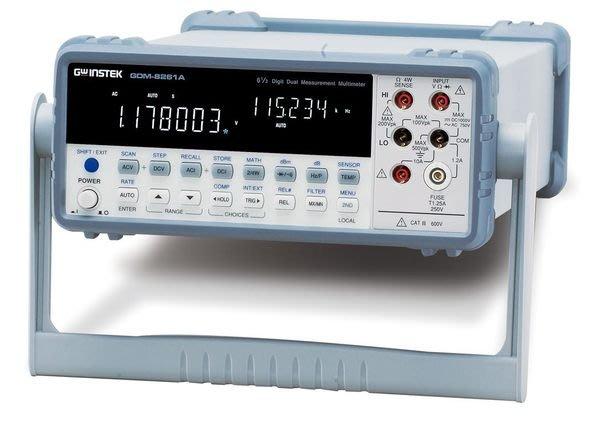 TECPEL 泰菱 》固緯 GWInstek GDM-8261A 6位半 數位電表 桌上型電表 高精度 GDM-8261