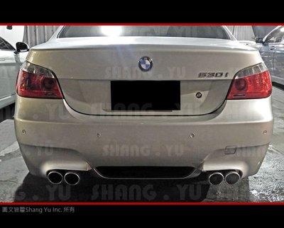 BMW E60 M5 後保桿 空力套件 520 525 530 535