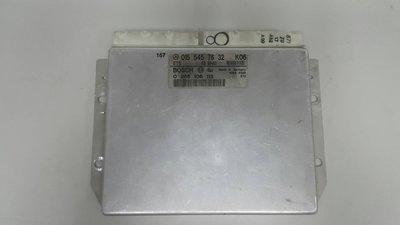 BENZ W210 1996-1997 ABS電腦 ASR電腦 ESP電腦 0155457632