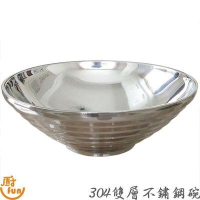 [現貨] 碗 隔熱碗 24cm 雙層碗 304隔熱碗 304雙層碗 304不鏽鋼隔熱碗 304不鏽鋼雙層碗