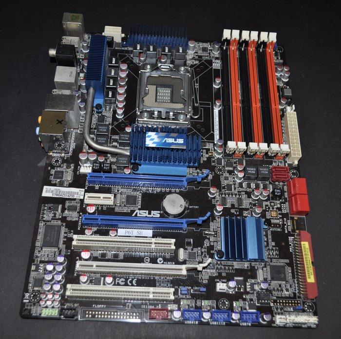 華碩 P6T SE (1366 X58 DDR3 1394 eSATA)非 R2E Sabertooth GA-X58A
