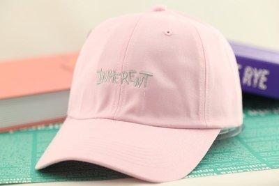 紫荊【INHERENT 鴨舌帽 粉紅色】棒球帽 高爾夫球帽 卡車貨車帽 板帽 老帽 網帽 漁夫帽 毛帽 扁帽 飛行帽