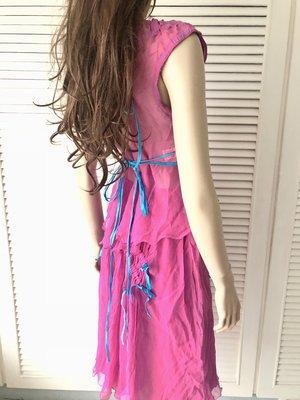 原價七萬 米蘭走秀款 純絲兩件式洋裝