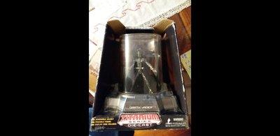 絕版Hasbro星球戰(Star Wars) 黑武士(Darth Vader) 金屬(Titanium Diecast)模型 (可除面罩)
