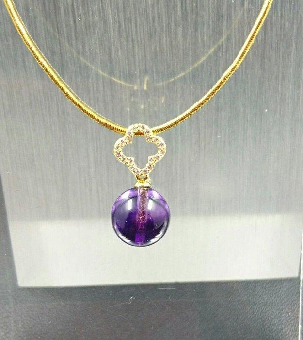 ~水晶花園~ 骨幹紫水晶墜子(不含鍊子) (純銀)骨幹水晶含有七種以上礦物,有助於人體七脈輪的能量