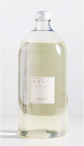 正版.公司貨】CULTI Milano (補充瓶特惠組2瓶)1000ml Acqua 義大利國寶 CULTI 香氛