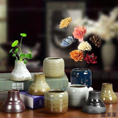 花盆 花器 陶瓷擺飾 現代簡約歐式陶瓷新品小花瓶干花玫瑰花個性花器花插客廳書桌家用