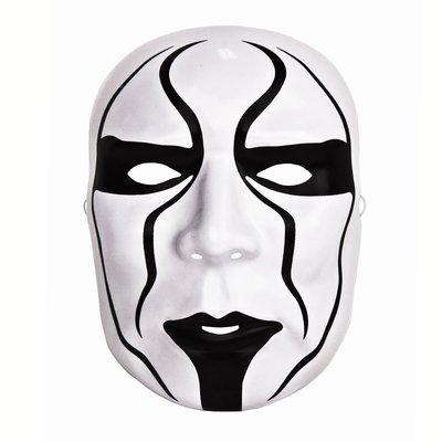 ☆阿Su倉庫☆WWE摔角 Sting Plastic Mask 蠍王史汀最新款塑膠面具 熱賣特價中