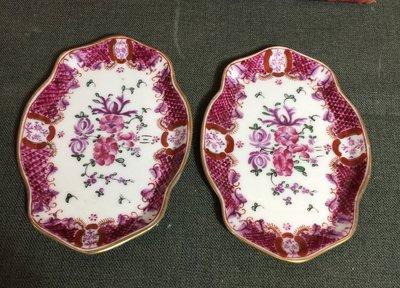 白明月藝術/古物雜貨店  西洋古董手繪瓷器