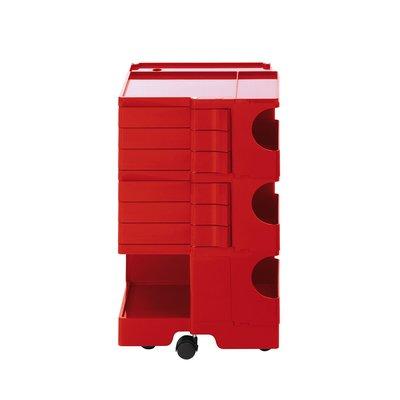 Luxury Life【預購】B-Line Boby 巴比 多層式系統 收納推車 - 高尺寸 (六抽屜收納) 紅色款