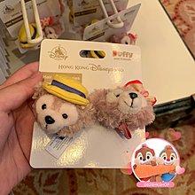 🌟香港迪士尼Disney代購🌟duffy shelliemay 情人節系列 公仔橡筋