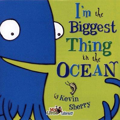*小貝比的家*I'M THE BIGGEST THING IN THE OCEAN / 單CD【李貞慧文法力】3~6歲