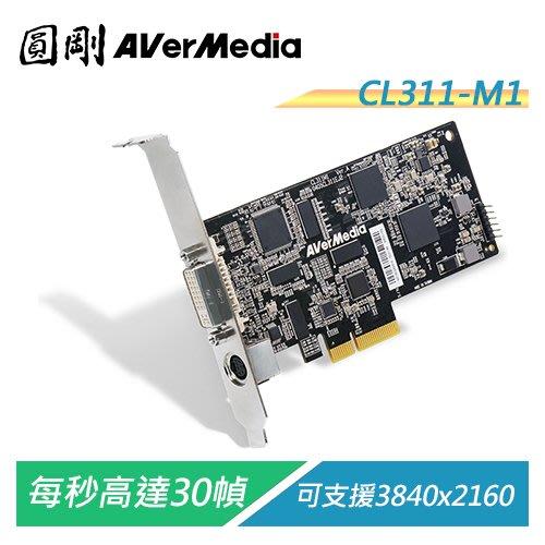 【電子超商】圓剛 CL311-M1 SDK擷取卡 HDMI+DVI+VGA+AV+【客訂品,下單請詢問交期】