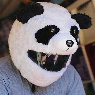 現貨【丹】A_Moto Loot Helmet Cover 安全帽套 芝麻街 熊貓 貓熊