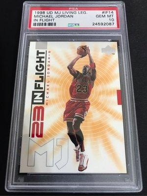 🐐1998-99 Upper Deck Living Legend In Flight #IF14 Michael Jordan