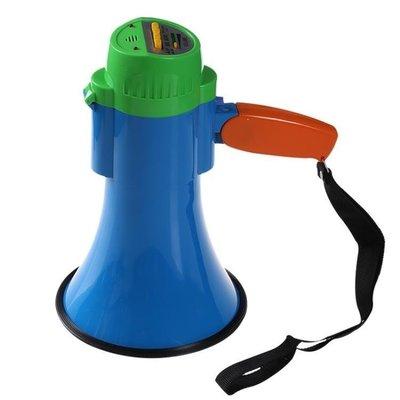 哆啦本鋪 隨身喇叭大功率手鍊喊話器擴音器錄音喇叭叫賣器可充電促銷喇叭運動會助威 D655