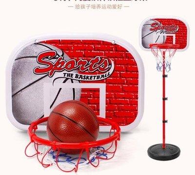 兒童戶外運動鐵桿可升降投籃框家用室內籃球架LY1903