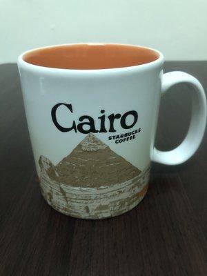 Starbucks 星巴克 埃及城市馬克杯 16oz  開羅 Cairo
