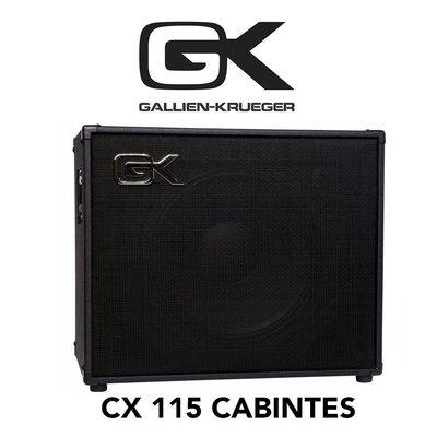 【反拍樂器】GK CX115 300瓦 電貝斯音箱 箱體 Cab Gallien Krueger