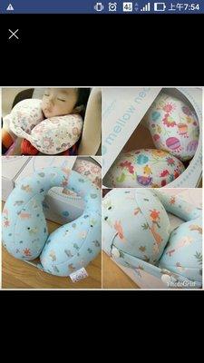 現貨:韓國Mamapume兒童護頸枕U型枕汽車安全座椅飛機旅行安睡神器(小朋友睡覺不再頭歪歪) 高雄市