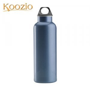 Koozio經典水瓶1000ml (寶格藍)(不鏽鋼水瓶/水壺 /不銹鋼杯/ 隨手杯/ 環保杯) Koozio原廠專賣