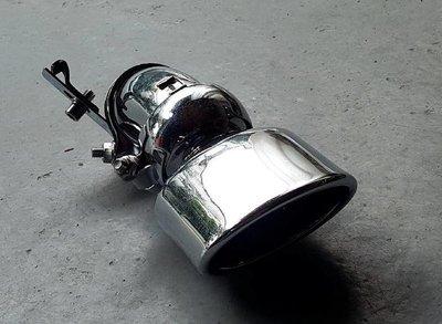 賓士 E-class W211 不鏽鋼排氣尾管 尾飾管 尾喉 白鐵 可調方向 單邊