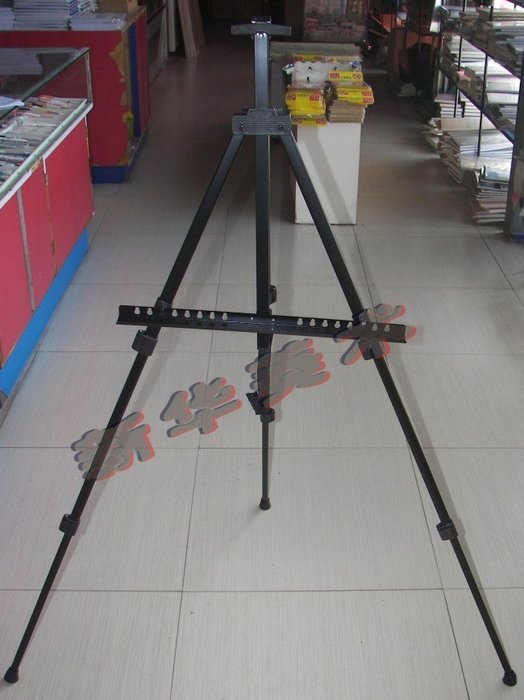 聚吉小屋 #折疊畫架 鐵畫架 鋁合金 便攜式畫架 畫板支架 三角架 展示架