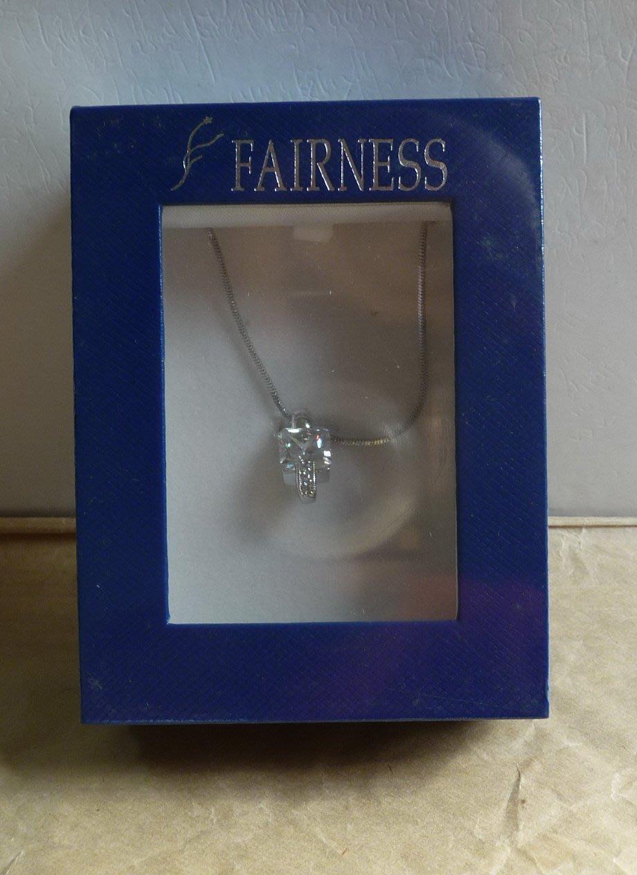 FAIRNESS 水晶水鑽項鍊