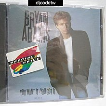 【djcodetw-CD】L1 Bryan Adams-you want it / you got it