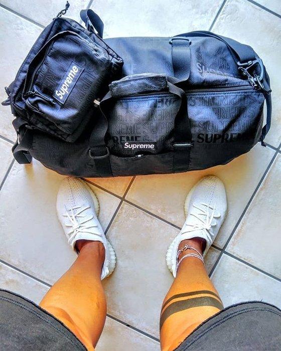全新正品2019SS 經典supreme 46th Duffle Bag 圓筒包 旅行包
