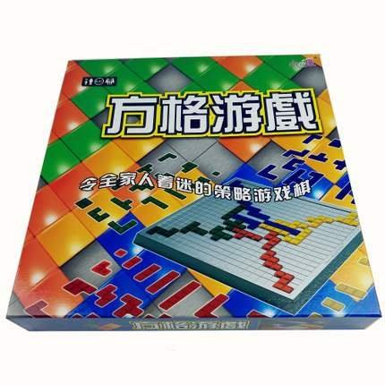 調音室嚴選 方格遊戲 益智遊戲 桌面遊戲 桌遊 正版小乖蛋四人方格遊戲 俄羅斯方塊 棋牌益智遊戲 四人版方格遊戲 益智