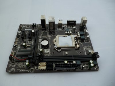 (((台中市)技嘉主機板GA-H81M-S1