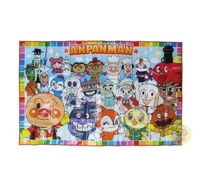 【JPGO日本購 】日本進口 Anpanman 麵包超人 野餐墊(L)~大集合#438