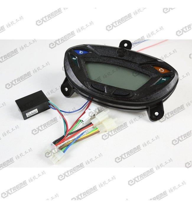 [極致工坊] GTR化油 改 原廠 GTR Aero 液晶儀表專用 轉接線組 波形轉換器 轉速電路 配線