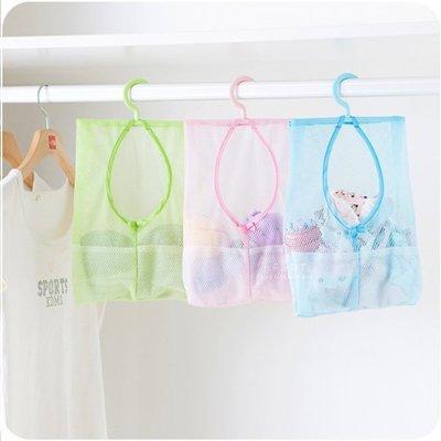 【可愛村】 掛式網子收納袋 創意居家掛式多用途收納網袋 懸掛網袋