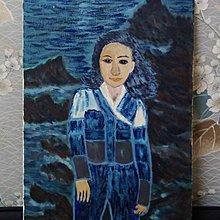 【台灣人珍瓊-200802】A woman standing in front of the sea
