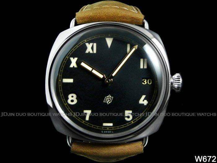 金鐸精品~W672 PANERAI 沛納海 PAM00424 PAM424 RADIOMIR 加州面盤 手動上鍊男用腕錶