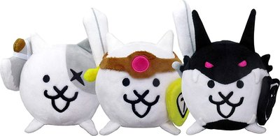 日本正版 貓咪大戰爭 進化系 戰鬥貓 3隻組 玩偶 娃娃 日本代購