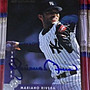 棒球天地--洋基 李維拉 Mariano Rivera 1996年簽名球卡 字跡漂亮