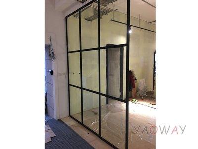 【耀偉】鋁框高隔間 (辦公桌/辦公屏風-規劃施工-拆組搬遷工程-組合隔間-水電網路)15