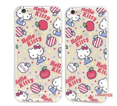 """《東京家族》 """"特價出清""""正版 Hello Kitty iPhone 6 plus 5.5吋 經典大蘋果 保護殼手機殼"""