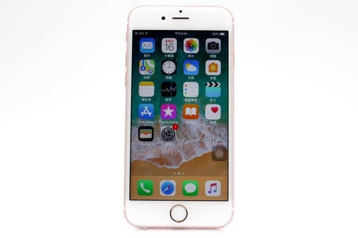 【台中青蘋果】APPLE iPhone 6S 4.7吋 玫瑰金 64G 64GB 二手 蘋果手機 #27791