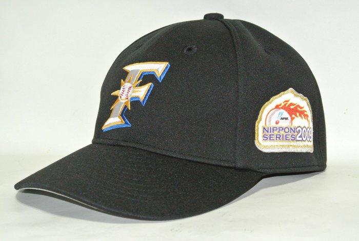 貳拾肆棒球-日本帶回日職棒日本火腿日本一球員版球帽Mizuno pro日製