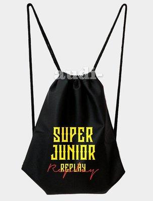 【須預購】SUPER JUNIOR SJ KRY 雙面彩印束口包 30X40cm 36X46公分 後背包 雙面可印不同圖